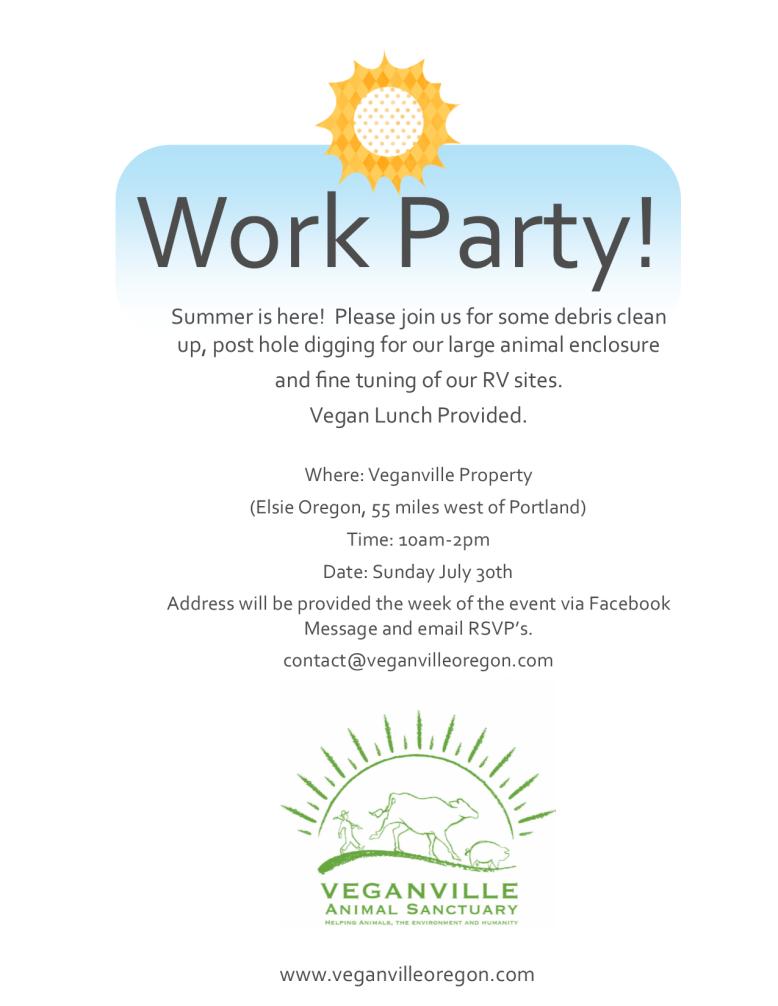 VeganvilleWorkParty7-30-2017