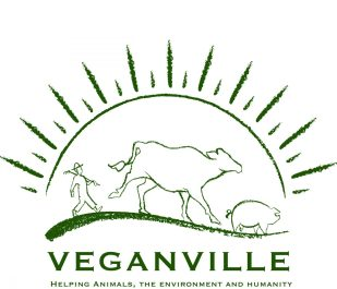 VeganVille logo_dark green