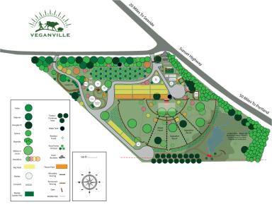 Veganville Design